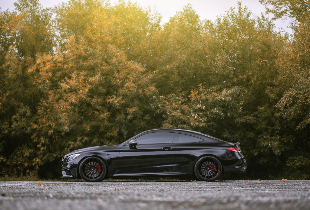 Obsidian Black C63s Coupe