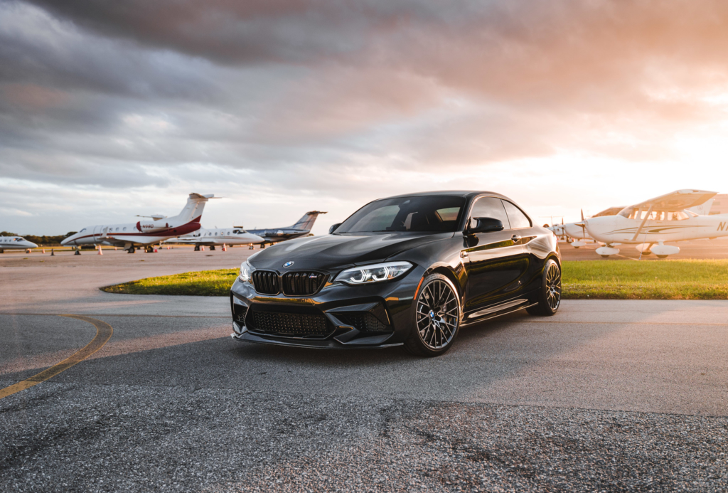 F87 M2c equipped with our GTS Front Splitter